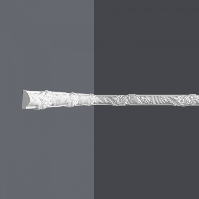 Vägglist frigolit L1