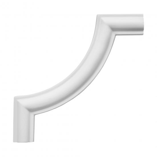 Hörnlist frigolit N6