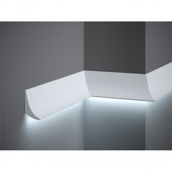 Provbit Vägglist indirekt ljus QL006