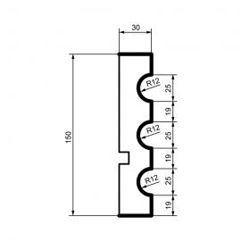 Fasadlist MC124